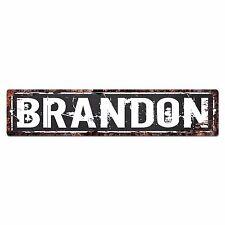 SFND0068 BRANDON MAN CAVE Street Chic Sign Home man cave Decor Gift
