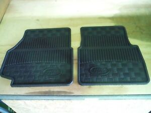 Genuine Land Rover Defender 1998 On Front Rubber Floor Mats Pair Part STC50172