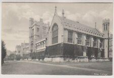 Oxfordshire postcard - New College, Oxford