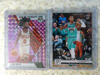 2019 Mosaic NBA Debut Purple Prizm/49 Coby White *READ* & Ja Morant Panini RC