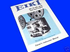 ELF EIKI RM RT RST 16mm Cine Projector Instruction Book