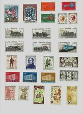 MONACO MINT AND PRE-CANCEL STAMPS 1968-72 ERA S-3094A
