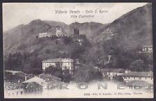 TREVISO VITTORIO VENETO 22 VILLA COSTANTINI Cartolina viaggiata (1909 ?)