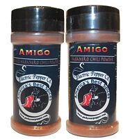 Habanero Chili Powder Pepper Hot Dried Spice 2 x 1.5 oz Amigo Extra Spicy Gift