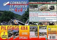 Lot 2 DVD Connaître et piloter son 4x4  - Pilotage 4x4 tout terrain