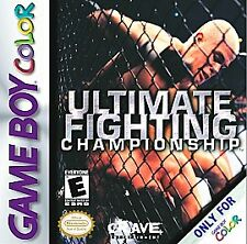 GBA-Ultimate Fighting Championship (#) /GBC (UK IMPORT) GAME NEW