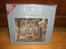 DIE ORGEL-VOL.1-HANS CHRISTOPH BECKER-HAMELN-INTERCORD AUDIO SEALED NEW ORGAN LP