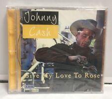 Johnny Cash- Give My Love à Rose Importation Nouveau CD