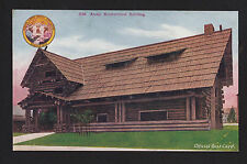 1909 AYPE exposition Artic Brotherhood bldg. Seattle Washington postcard
