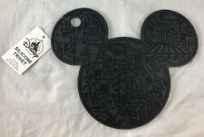 Disney Parks Wdw Silicone Trivet Mickey Mouse Ears Kitchen Hot Plate Mat - New