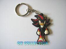 PORTACHIAVI in gomma morbida SHADOW della serie videogiochi Sonic (cm 5) keyring