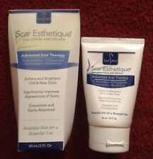 Scar Esthetique - Advanced Scar Therapy with Silicone ,2 oz/60 ml.Made in USA .