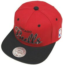Mitchell & Ness and Chicago Bulls Red Team Sonic NBA EU053 Snapback Cap Basecap