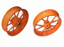 Nos Front And Rear Wheel Rim Set for Ktm Duke 390 Motorcycles CAD