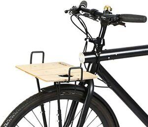 Vintage Foldable Front Cycling Bike Basket Shopp Town Tourist Steel Basket Black