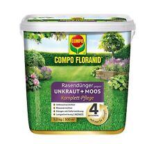 COMPO FLORANID Rasendünger gegen Unkraut und Moos 4in1 9 kg (26173)