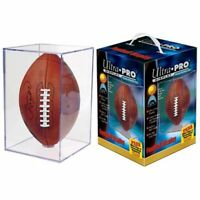 Ultra Pro Football Clear Square Holder New display case NFL acrylic protection