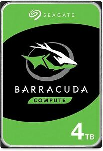 Seagate BarraCuda 4TB Internal Hard Drive HDD – 3.5 Inch Sata 6 Gb/s 5400 RPM 25