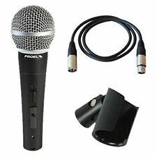 Impianti professionali con microfono per il karaoke