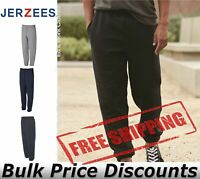 JERZEES Mens Super Sweats NuBlend Sweatpants with Pockets 4850MR up to 3XL
