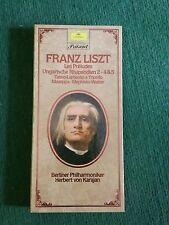 cofanetto FRANZ LIST Les preludes Ungarische Rhapsodien 2 MC 2