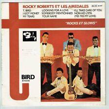33T 25 cm Rocky ROBERTS et LES AIREDALES Vinyle ROCKS SLOWS - BARCLAY 92107 RARE