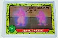 Peter Renaday TMNT Signed Splinter Trading Card sticker Voice of Master Splinter