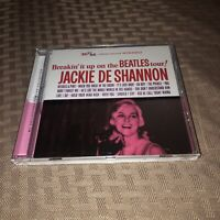 MINT COND JACKIE DE SHANNON-BREAKIN' IT UP ON THE BEATLES TOUR-RPM IMPORT CD OOP