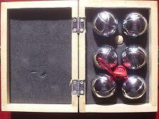 Trés beau mini jeu de pétanque - dans une boite en bois - jamais servi - 2 photo