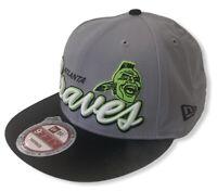 Atlanta Braves Men's New Era 9FIFTY MLB Baseball Glow-In-Dark Snapback Hat Cap