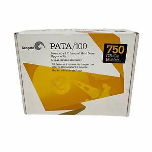 "Seagate PATA/100 750 GB/Go Barracuda 3.5"" Internal Hard Drive Upgrade Kit"