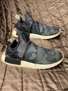 ADIDAS ORIGINALS NMD_XR1 Mens size 10 duck CAMO BLACK BOOST running shoe BA7231