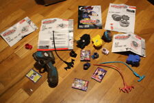 Beyblade Metal Fusion LOT with Blue Electronic Launcher - Pegasus L Drago -