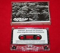 SHROUD 98 Singles DEMO CASSETTE Rare BUFFALO NY Thrash Heavy Metal NEW YORK
