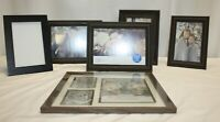 Lot of 6 Picture Frames – 4 Matching – 5 Unused