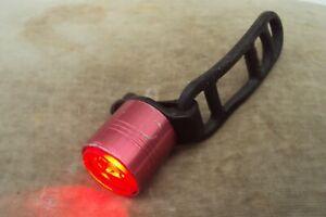 Lezyne femto drive rear bike light 5 modes includes new batteries.