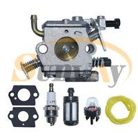 Carburateur + Joint + Bougie d'allumage + Tuyau pour Stihl 020T MS200 MS200T