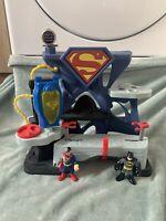 Imaginext Superman Head Quarters With Figures
