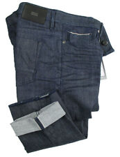 BOSS TAILORED JEANS DELAWARE in W33/L34 (slim fit) Blu Marino Selvedge Denim