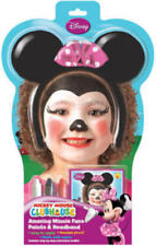 Minnie Mouse Disney Face Kids Fancy Dress Childrens Girls Costume Paint Kit New