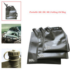 Portable 10L 20L 30L Oil Bag Spare Gas Fuel Tank Jerry Can Car Motorcycle SUV