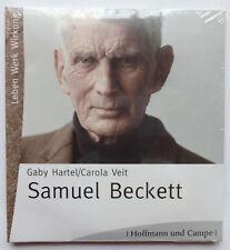 2 CD Samuel Beckett Leben Werk Wirkung Gaby Hartel Carola Veit Petra Bogdahn ua