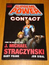 Pouvoir suprême contact HB roman graphique Straczynski 9780785137658