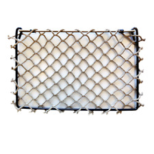 Framed Storage Net- TAN DIAMOND 8x12 netting RV Boat Trailer Golf Cart Cargo net