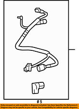 FORD OEM Tow Hook Hitch-Wire Harness 5L3Z13A576BA