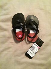 NWT Quicksilver Toddler Boy or Girl Premium Sandals