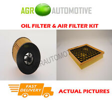 PETROL SERVICE KIT OIL AIR FILTER FOR VAUXHALL INSIGNIA 2.0 250 BHP 2014-