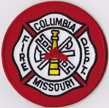 Columbia Fire Department Missouri patch NEW