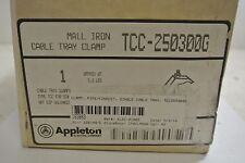 1 New Appleton Electric Tcc-250300G Cable Tray Clamp