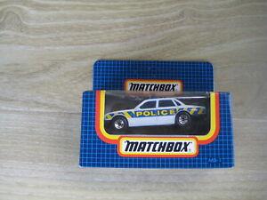 MATCHBOX SUPERFAST   MB1 JAGUAR XJ6  POLICE   ABSOLUTELY MINT  Blue Box